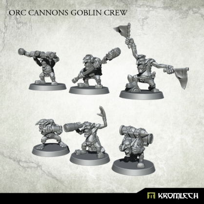 Orc Cannons Goblin Crew