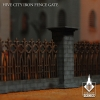 Hive City Iron Fence Gate