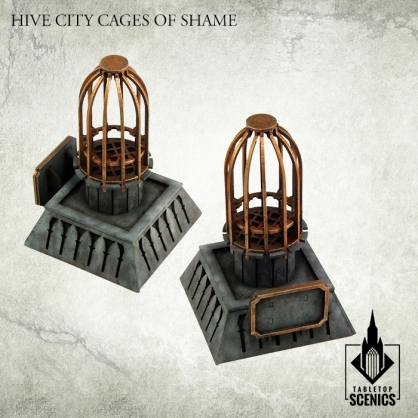 Hive City Cages of Shame