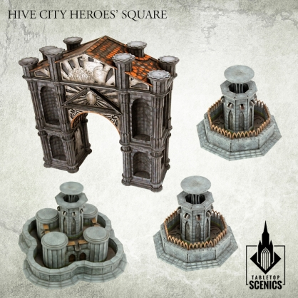 Hive City Heroes' Square Bundle