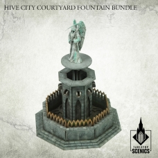 Hive City Courtyard Fountain Bundle