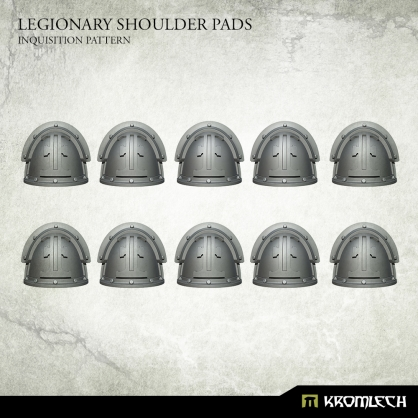 Legionary Shoulder Pads: Inquisition Pattern