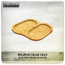 Weapon Team Tray (for two prone models)