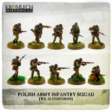 Polish Army Infantry Squad (wz. 36 uniforms)
