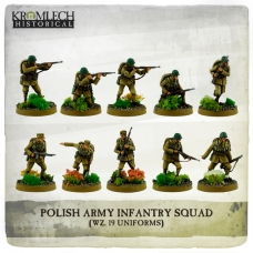 Polish Army Infantry Squad (wz. 19 uniforms)