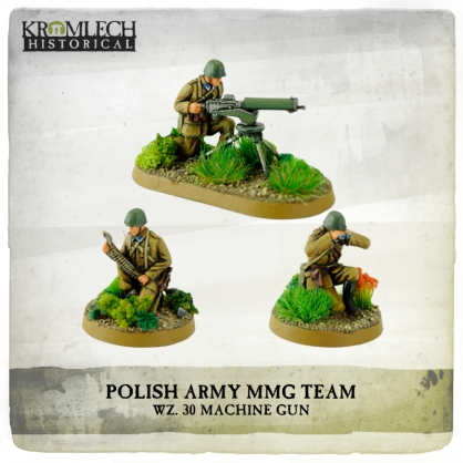 Polish Army wz. 30 Machine Gun team (MG + 3)