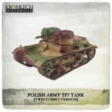Polish Army twin-turret 7TP tank