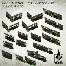 Wooden Fence - Gates, Gateway and Corner Fences