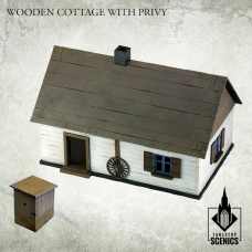 Wooden Cottage with Privy