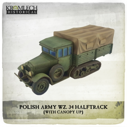 Polish Army wz. 34 Halftrack