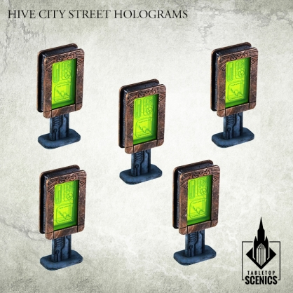 Hive City Street Holograms