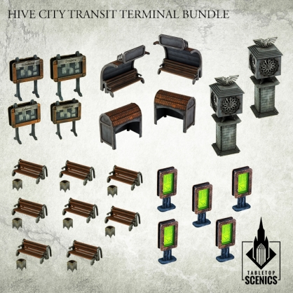 Hive City Transit Terminal Bundle