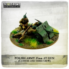 Polish Army 37mm Bofors AT Gun