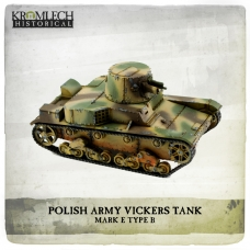 Polish Army Vickers Mark E Type B tank