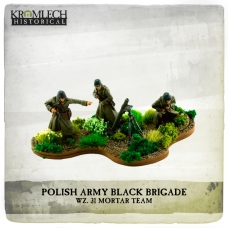 Polish Army Black Brigade wz. 31 Mortar Team