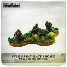 Polish Army Black Brigade wz. 30 Machine Gun team