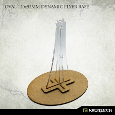 Oval 120x92mm Dynamic Flyer Base