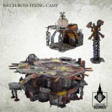 Mech-Boss Fixing Camp
