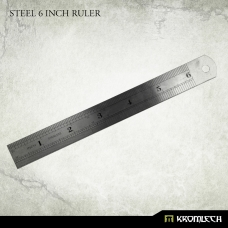 Kromlech Steel 6 inch Ruler