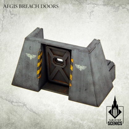 Aegis Breach Doors