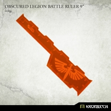 "Obscured Legion Battle Ruler 9"" [orange]"