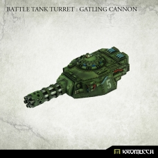 Battle Tank Turret : Gatling Cannon