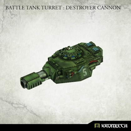 Battle Tank Turret : Destroyer Cannon