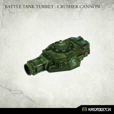 Battle Tank Turret : Crusher Cannon