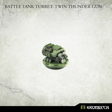 Battle Tank Turret: Twin Thunder Gun