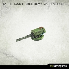 Battle Tank Turret: Heavy Machine Gun