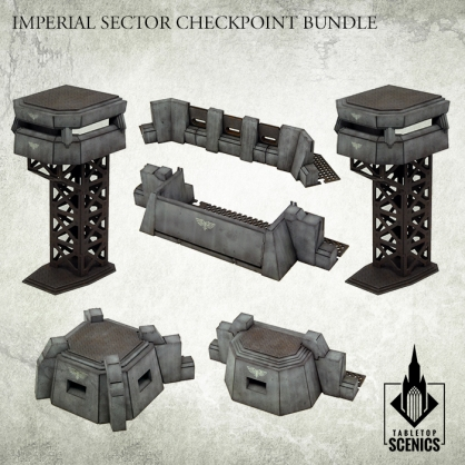 Imperial Sector Checkpoint Bundle