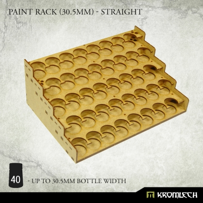 Paint Rack (30.5mm) - Straight