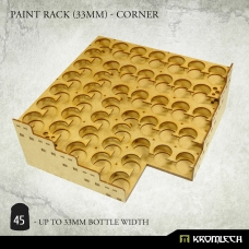 Paint Rack (33mm) - Corner