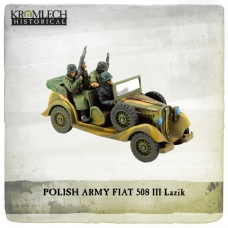 Polish Army FIAT 508 III Lazik with Black Brigade Crew