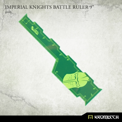 "Imperial Knights Battle Ruler 9"" [green]"