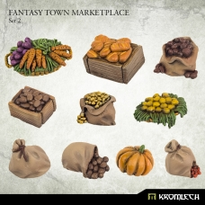 Fantasy Town Marketplace Set 2