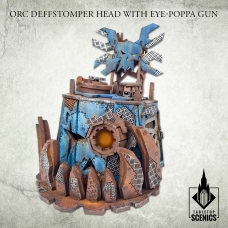 Orc Deffstomper Head with Eye-Poppa Gun