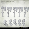 Prime Legionaries CCW Arms: Axes