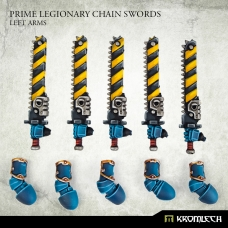 Prime Legionaries CCW Arms: Chain Swords (left arms)