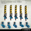 Prime Legionaries CCW Arms: Chain Swords