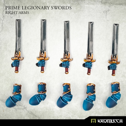 Prime Legionaries CCW Arms: Swords (right arms)