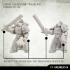 Prime Legionaries CCW Arms: Heavy Thunder Pistols (left arms)