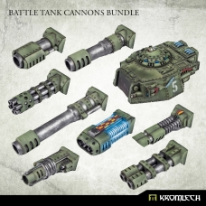 Battle Tank Cannons Bundle