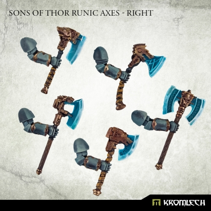 Sons of Thor Runic Axes - Right