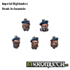 Highlander Heads in Gasmasks