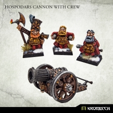 Hospodars Cannon with crew