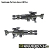 Sunbeam Pattern Laser Rifles