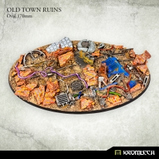 Old Town Ruins Oval 170mm