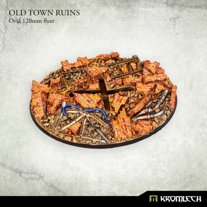 Old Town Ruins Oval 120mm flyer