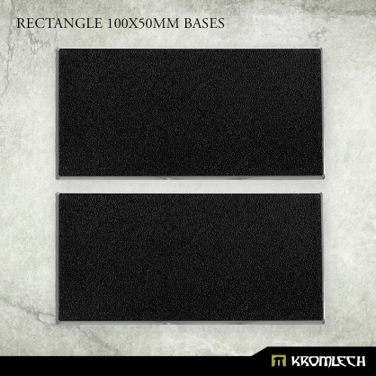 Rectangle 100x50mm Bases